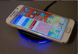 New Fashion Design Wireless Charger Fast Charging Pad Receive For Samsung Galaxy S6 S6 edge