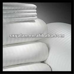 hotel bedding sheets /sets fabric/hotel linen fabric/plain stain stripe jacquard fabric