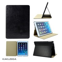 Guangzhou smart case factory flip leather crystal case for ipad air5