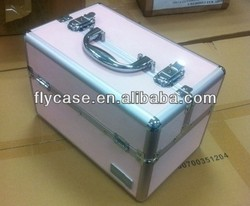Lovely and elegant Pink decorative pattern Jewelry Case