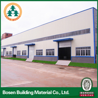 warehouse plastic container/warehouse trolley/prefabricated steel structure warehouse