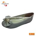 2014 nueva moda plana de último diseño zapatos de la señora