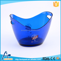 Professional aviopack plastic wine ice bucket for airplane