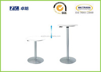 Factory supply restaurant furniture adjustable table in height