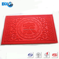 DBJX home design floor tiles embossed thin door mat