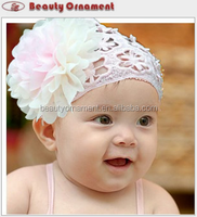 The new children's princess temperament big flower headbands pretty baby tire hair hair band