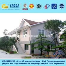 Light Steel Concrete Panel China Prefabricated house villa