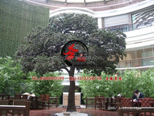 large artificial pine tree / fake pine branches / artificial pinaster with water proof UV protected for park decorative