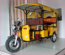 Yufeng three wheel enclosed electrical tricycl