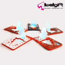 Promotional LED Credit Card led flash christmas light up card