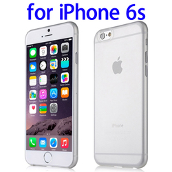 Hot selling Baseus 0.35mm Frosted Hard PC Protective Case for iPhone 6s clear