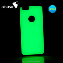 New!!! Glowing in the dark TPU makeup case with light for iphone 6 4.7 and 5.5 inch