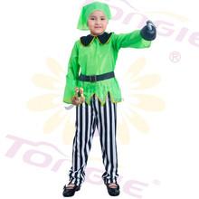 2015 Hot Sale wholesale naughty girls cheap pirate costume Kids halloween costume with kerchief