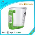 soleado de moda 1kg 1g 600ml cocina digital escala de medición