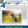 9.6 inch android tablet pc quad core 3g, High resolution 9.6 inch 3G Tablet built in Bluetooth & GPS ZXS-960