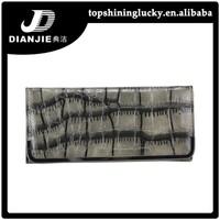 stock Hot sale PU crocodile wallet phone bag for ladies