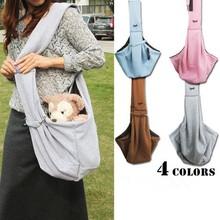 Factory wholesale price popular unique design high quality cotton pet carrier bags for dog/cat