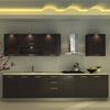 Oppein Modular Modern Hanging Melamine Board Kitchen Cabinet Designs