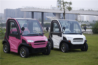 China Mini Electric Cars/Red Golf Cars/Small Electric Car with Air Conditioning Can Be Optional