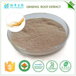 Factory price 100% pure korean red ginseng extract powder for health and more energy