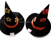 Halloween Party Supplies Pointed Toe Witch Hats Halloween Wizard Witch Hats