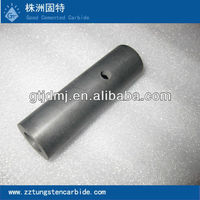 Airless paint sprayer nozzle made from tungsten carbide