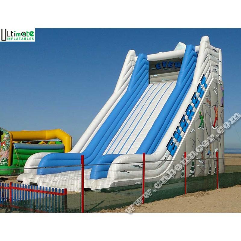 Inflatable Everest Slide: 9 Meters High Everest Giant Inflatable Slide Made Of 0