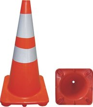 pvc material used traffic cones manufacture in China