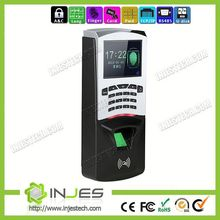 Punch Machine T9 Input TCT IP Fingerprint Device Access Time Recorders And Clock