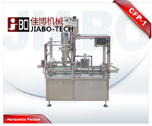 CFP-1 K-fee filling sealing machine,coffee capsule filling