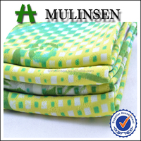 Mulinsen Textile Super Soft 4 Way Stretch Printed Floral Jacquard Fabric For Underwear