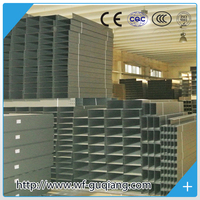 Powder coated galvanized steel electrical cable tray accessories china manufacturer