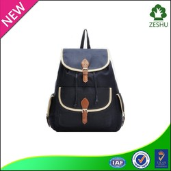 latest fashion backpack canvas backpack lady backpack school backpack
