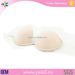 Strapless fabric sexy girl nude seamless sports bra