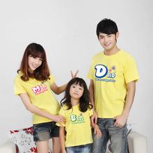 O del modelo- el cuello de la familia a juego t- shirt, a juego de la familia conjunto ropa