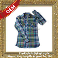 Popular antique long sleeve women shirt dress