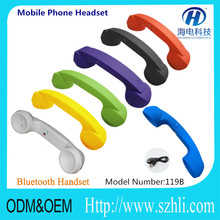 cheap retro mobile phone handset with bluetooth /volume control/answer button