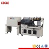 High speed automatic wrapper and shrink tunnel machine