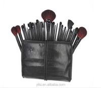 FREE SAMPLE 32PCS Professional OEM cosmetic blusher makeup brush sets for makeup products