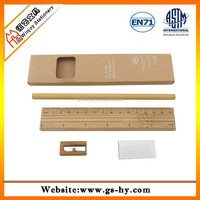Kraft recycle paper box with ECO friendly pencil