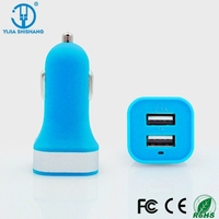 High Quality 5V 3.1A Micro Auto Universal Dual USB Car Charger For iPad iPhone HTC XIAOMI HUAWEI Mini Adapter