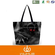 LED shine classic heavy duty wholesale canvas shopping bags