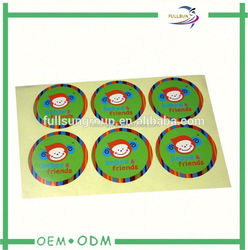 color fluorescent paper label blank label