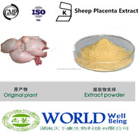 Hot Selling Free Sample Sheep Placenta Extract 100% Natural Placenta Extract Ovine Placenta Extract