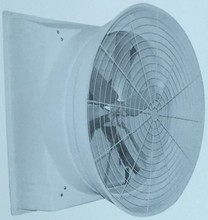 Ventilation exhaust fan with glass steel/fiber glass material