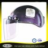 ABS Dark half face motorcycle helmet