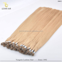 New Arrival Beauty Works European Russian Hair Top Quality hongking hair nano european