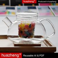 2012 glass teaport