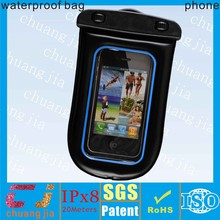 Good quality waterproof floating bag for smartphone with string