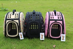 New material EVA pet carrier dog carrier